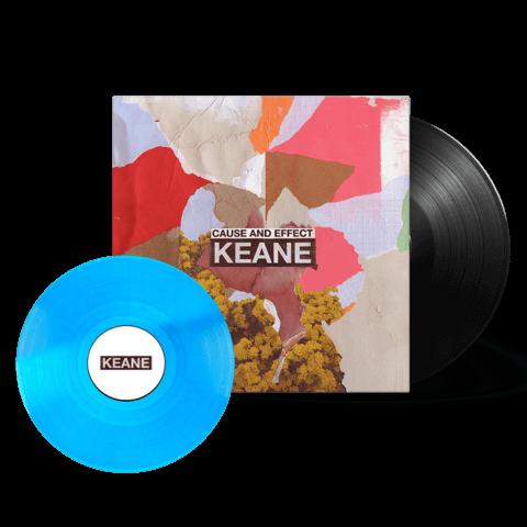 √Cause and Effect (Ltd. Deluxe 2LP + Bonus 10'') von Keane - 2LP jetzt im Keane Shop